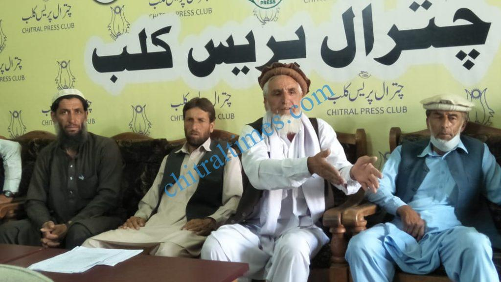 Rumbur kalash valley forest area press confrence scaled