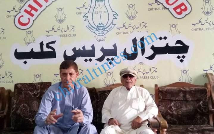 amirullah ppp upper chitral press confrence