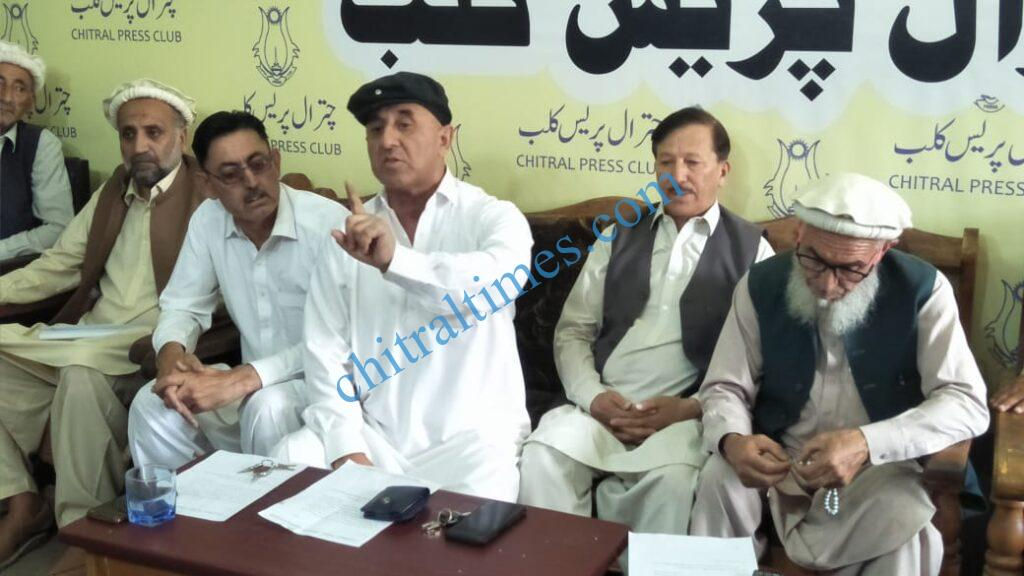 chitral times Sartaj ahmad khan press confrence chitral scaled