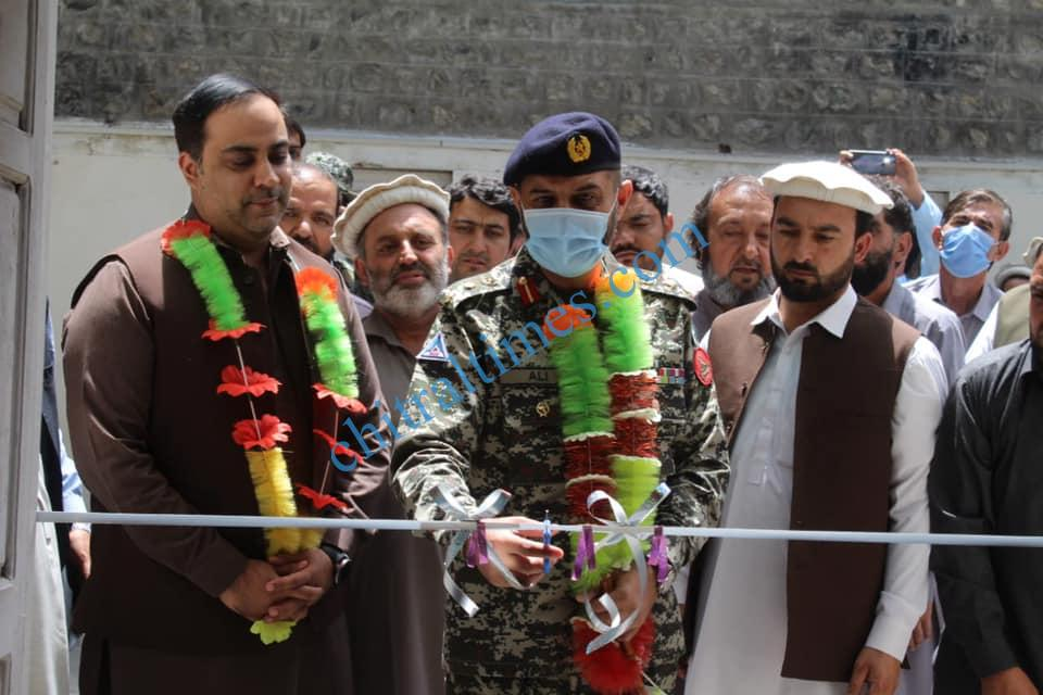 chitral times comdt chitral scouts inagurated cleanliness campaing