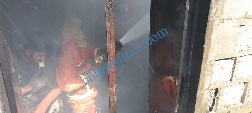 chitraltimes dhq hosptial store caught fire1 scaled