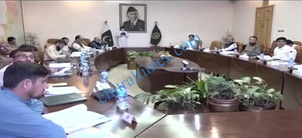 chitraltimes islamia college senate meeting kamran bangash