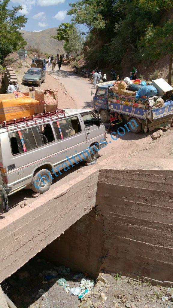 chitraltimes reshun river erosion road block3 scaled
