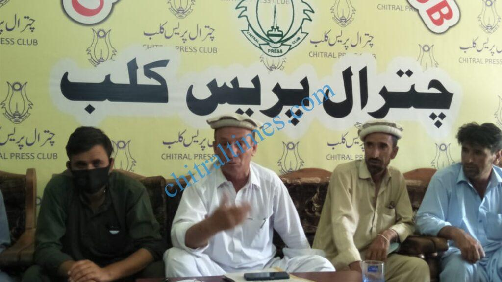 chitraltimes muhammad hussain press confrence scaled