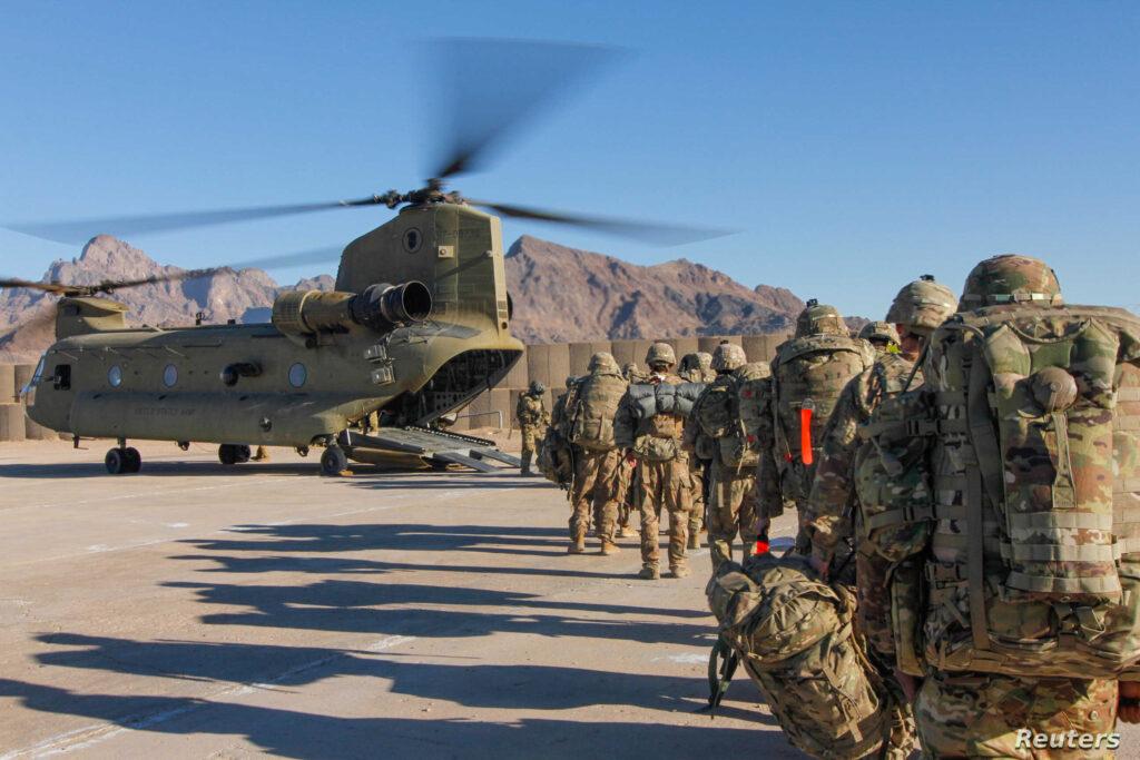 افغانستان سے امریکی فوجی انخلاء