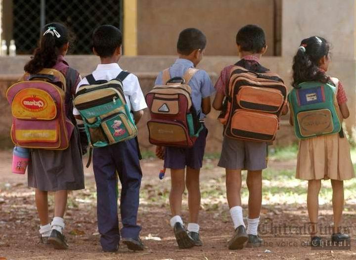 students school going children bags